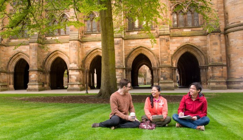 Students at the University of Glasgow