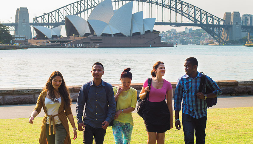 University of Sydney students