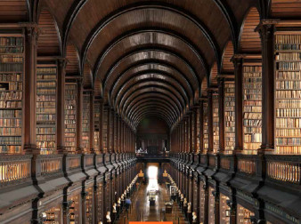 The Long Room at Trinity College Dublin