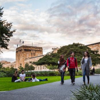 University of Queensland students