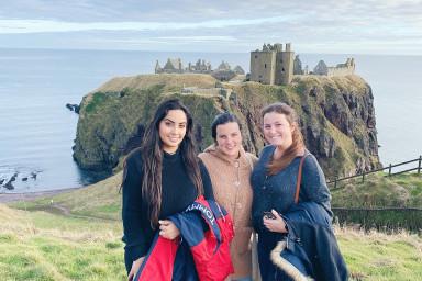 UF students in Aberdeen