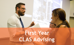 First Year CLAS Advising
